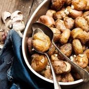 Приготовленная картошка