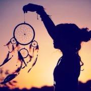 Девушка и ловец снов