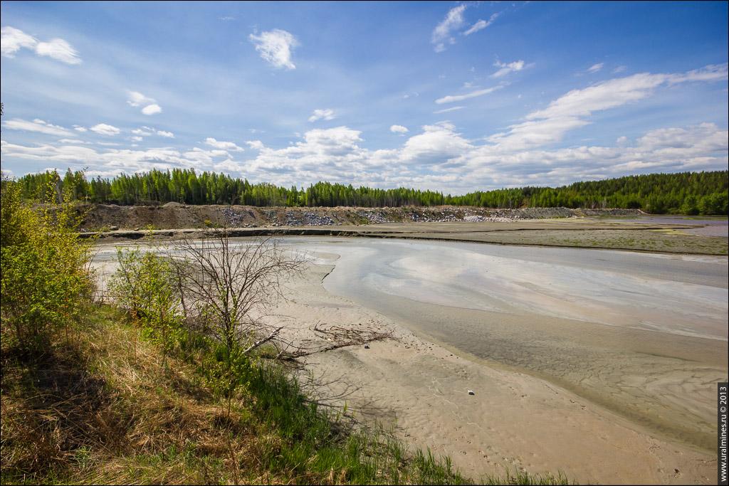 Первый Каменский железный рудник - карьер шламохранилище