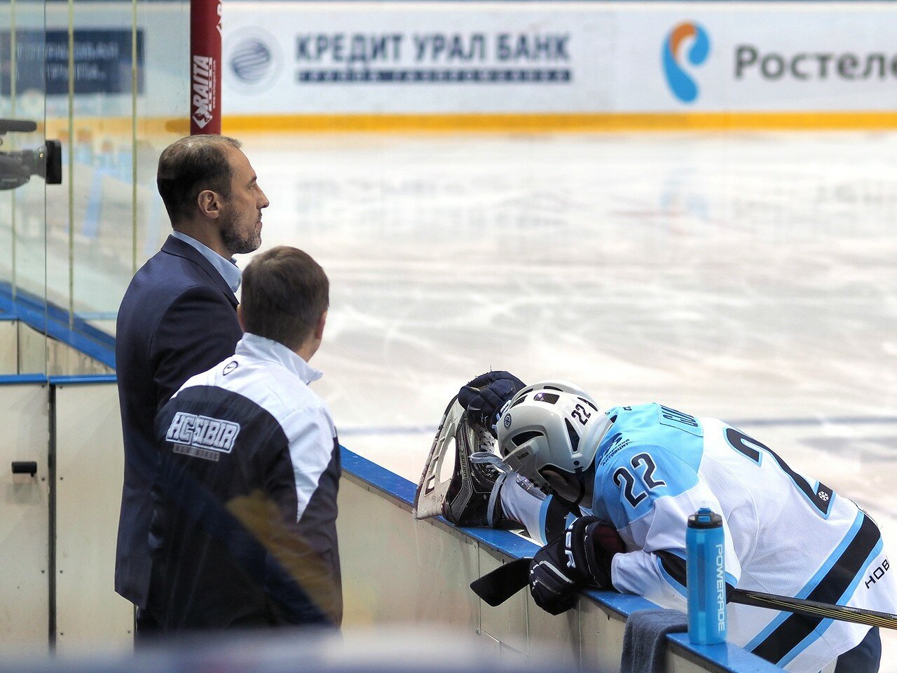3Восток 1/2 плей-офф Металлург - Сибирь 08.03.2016