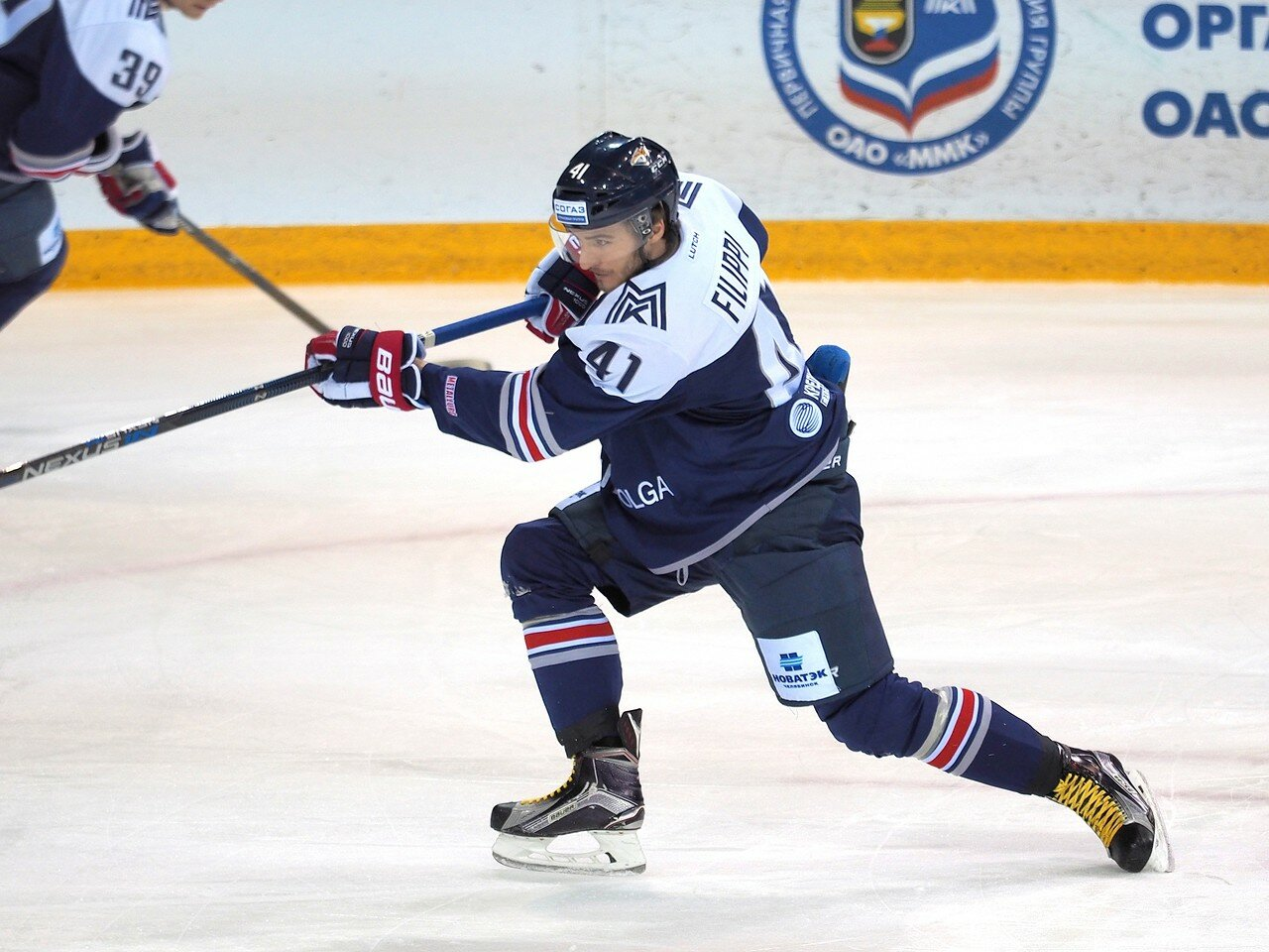 47Восток 1/2 плей-офф Металлург - Сибирь 08.03.2016