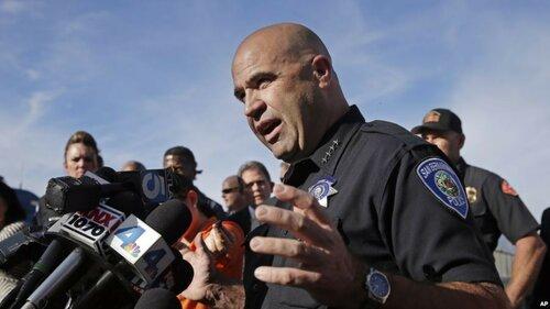 Дерзкое вооружённое нападение произошло в Калифорнии