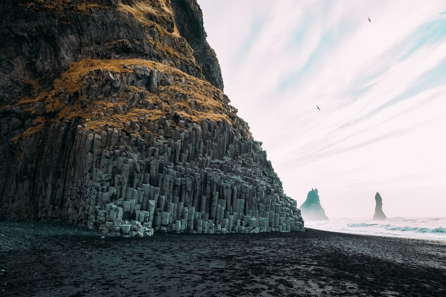 The Black-Pebble Beach of Reynisfjara