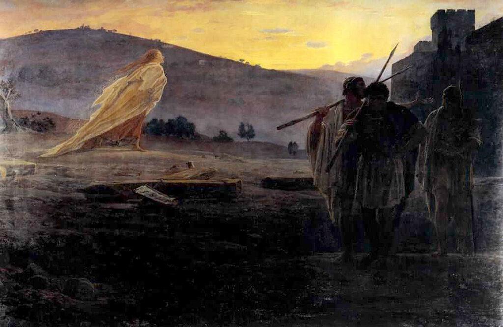 1867 г. 229×352 см. Холст, масло. Третьяковская галерея, Москва, Россия.