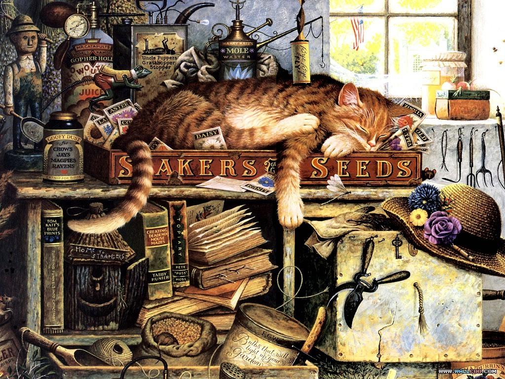 Кошки Чарльза Высоцки.