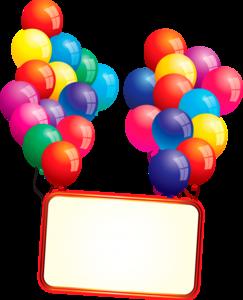 карточки на шариках