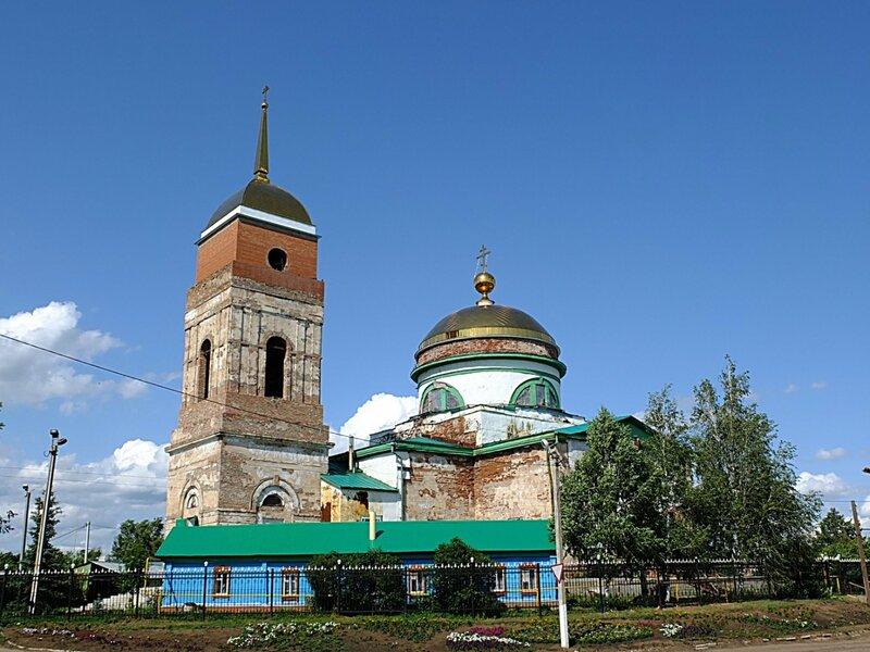 Кинельчеркаский район, Кабановка с Ниной 254.JPG