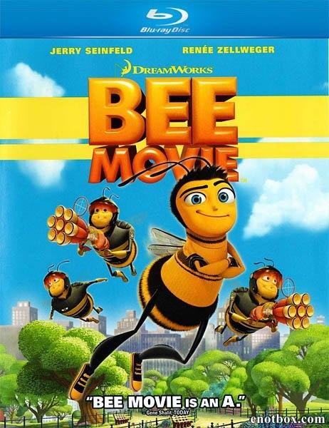 Би Муви: Медовый заговор / Bee Movie (2007/BDRip/HDRip)