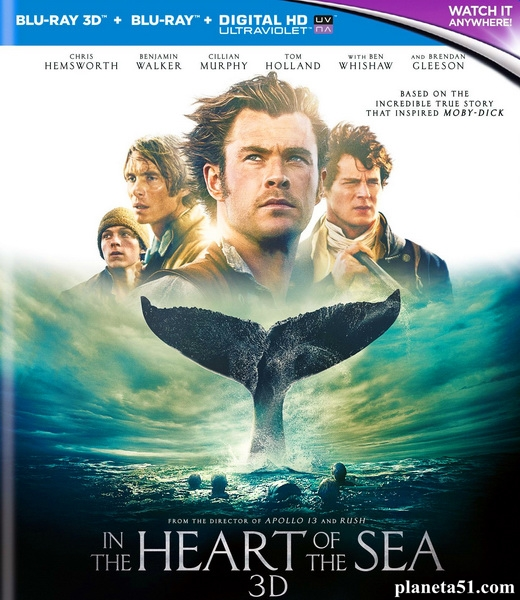 В сердце моря / In the Heart of the Sea (2015/BDRip/HDRip/3D)