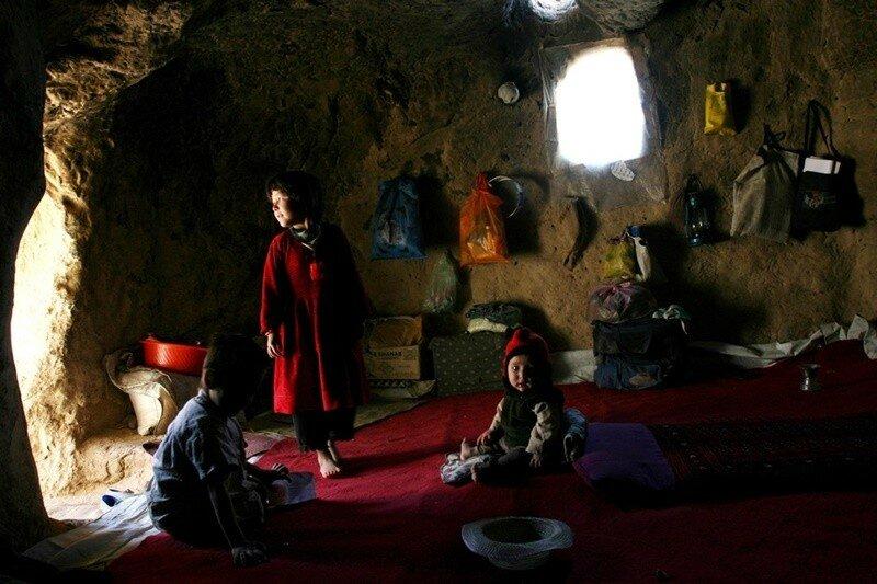 Пещеры в Китае стали популярным жильем. Роскошные пещерные дома