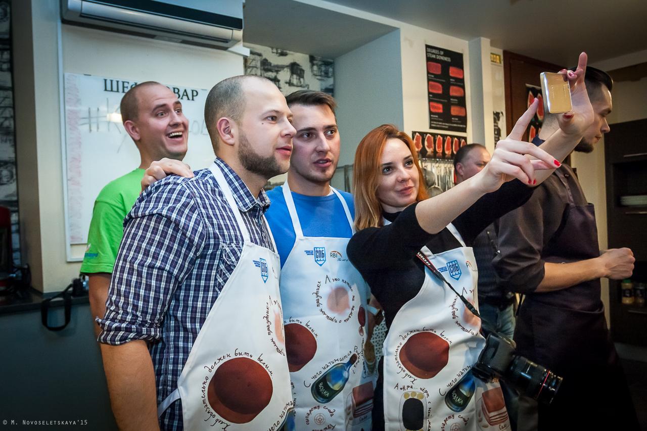 Кулинарные самураи. Кулинарный поединок. Санкт-Петербург.