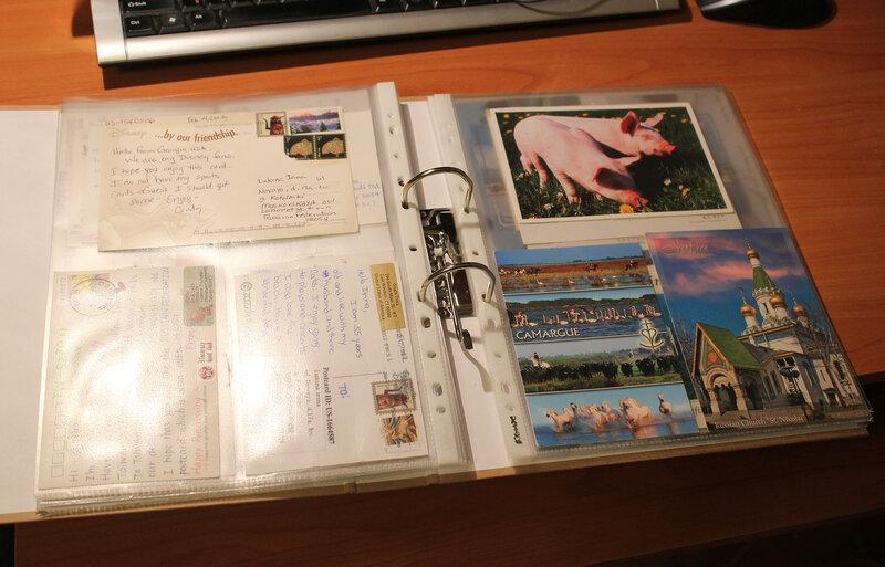 Хранение открыток посткроссинг идеи