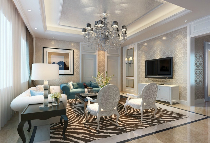 Дизайн интерьера в светлых оттенках фото 9