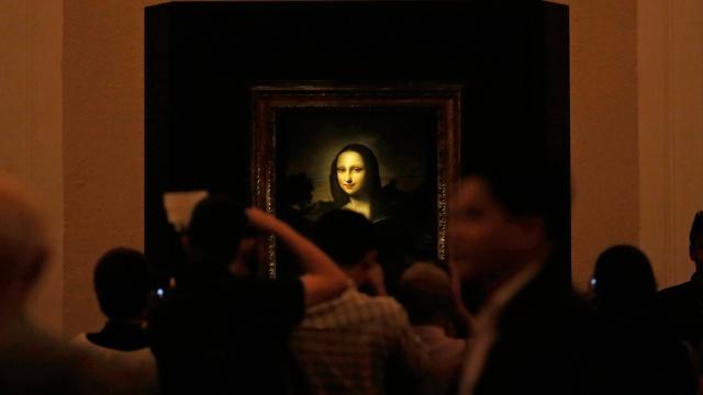 В России может находиться второй вариант знаменитой Мона Лизы да Винчи. СМИ живопись и художники искусство