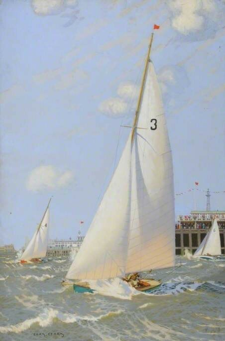 Yacht Regatta at Southend-on-Sea, Essex