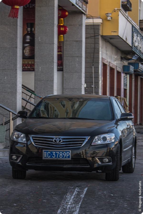 китайская версия Toyota Camry 2013
