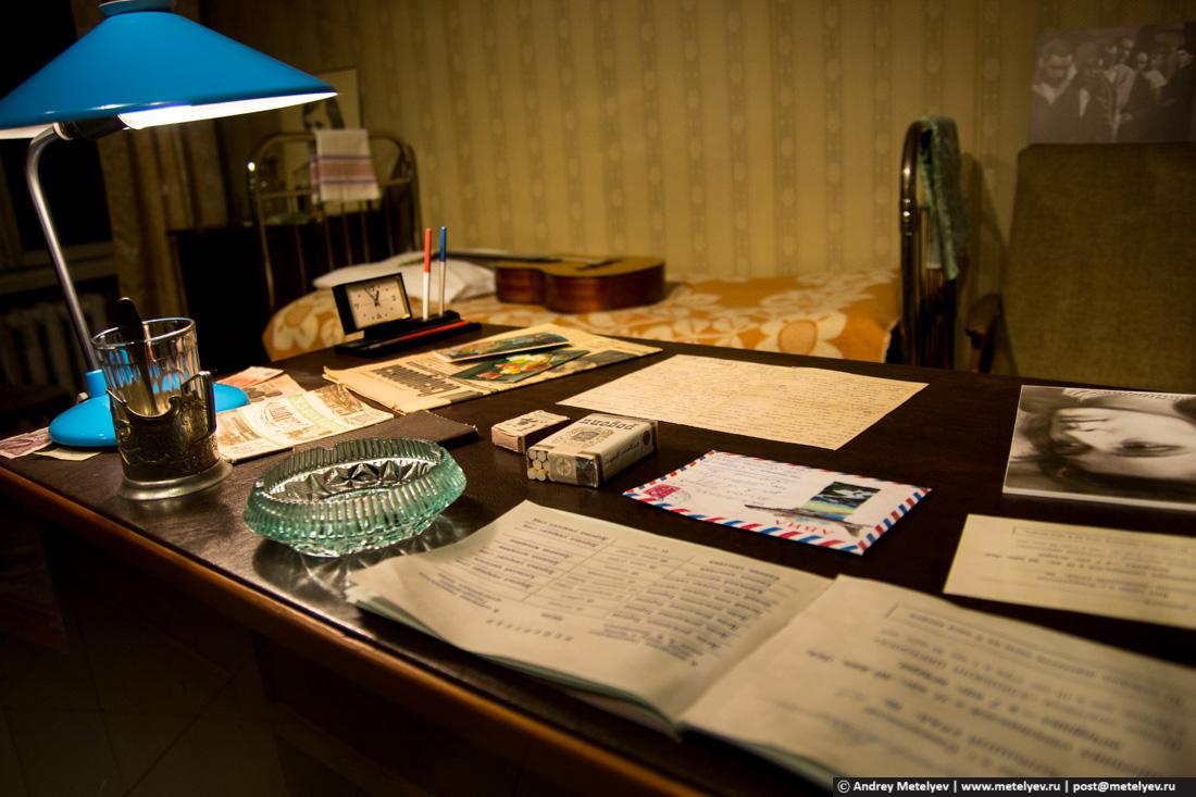 рабочий стол Владимира Высоцкого