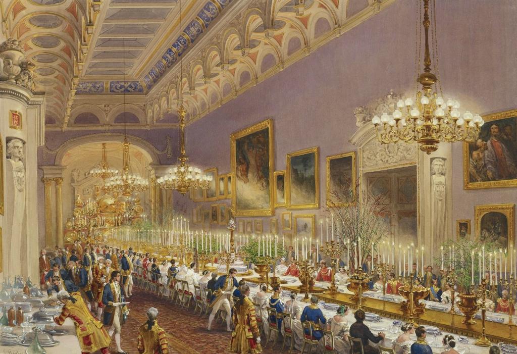 Букингемский дворец: Картинная галерея, 28 июня 1 853