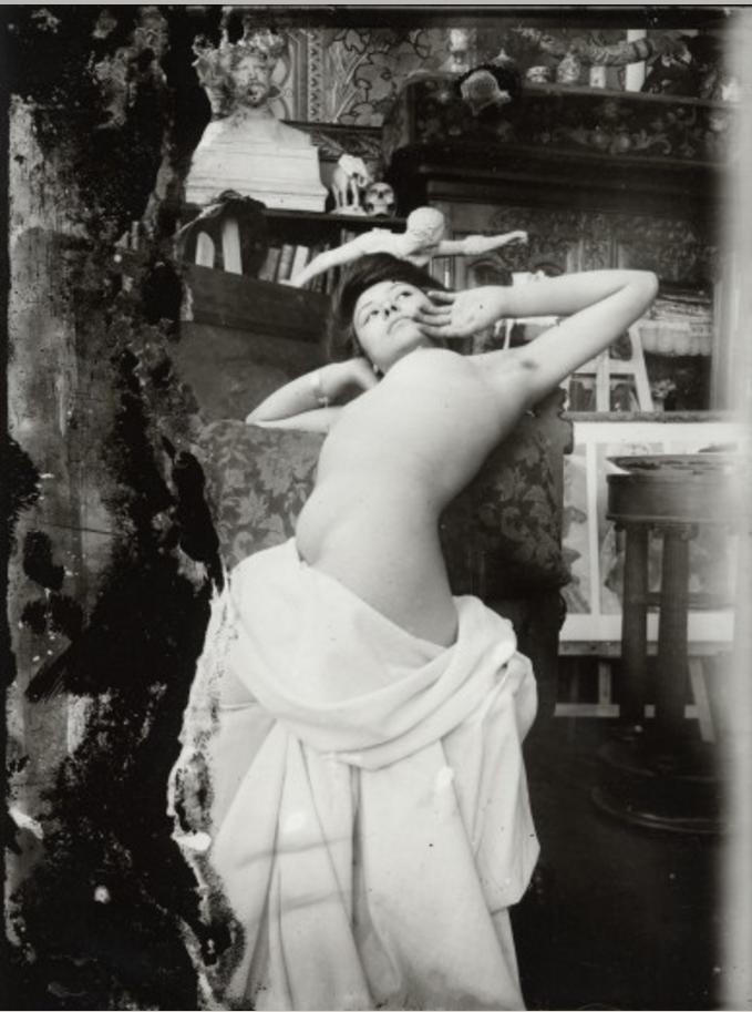 1902-1903. Обнаженная модель в студии на рю Валь-де-Грас