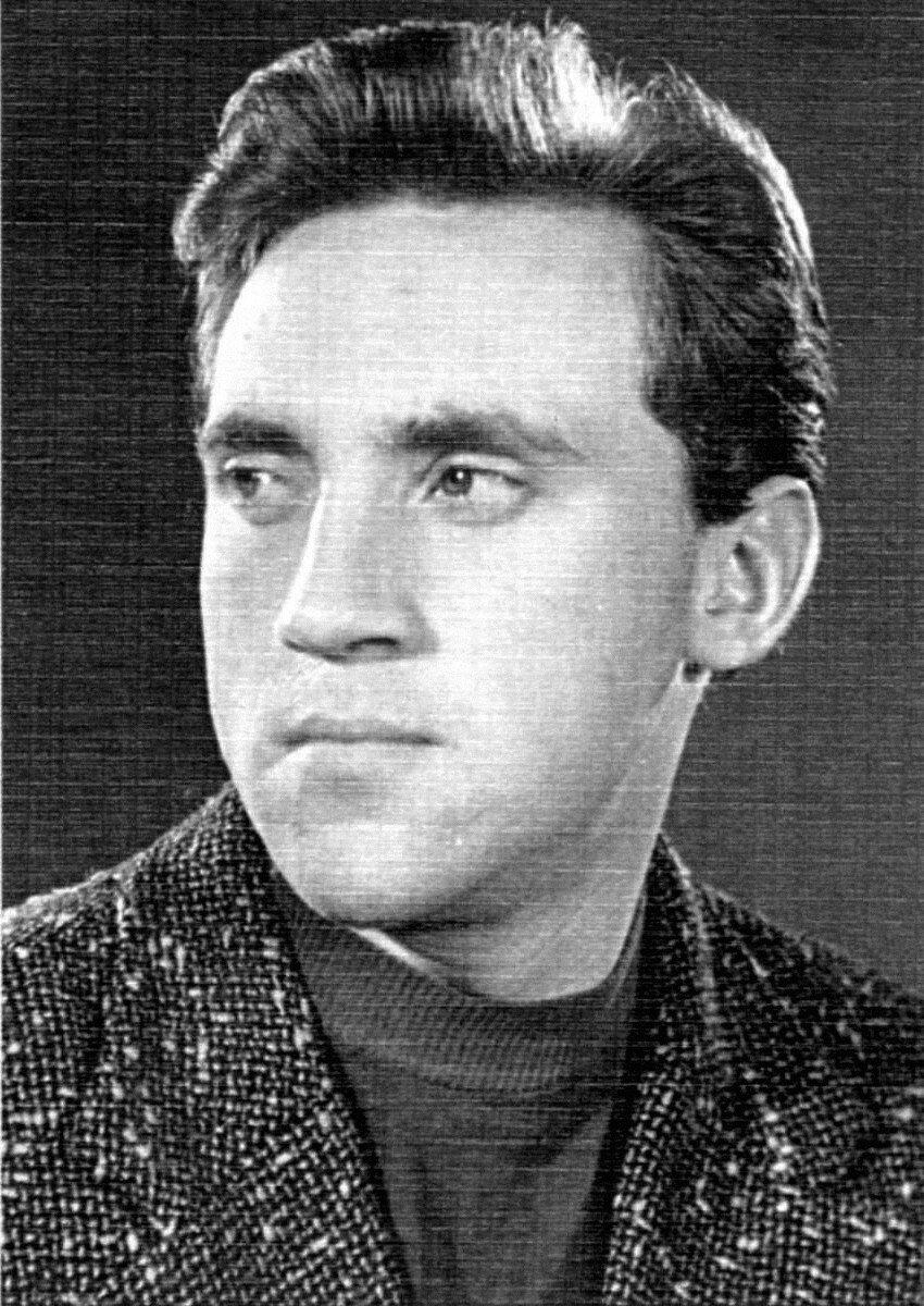 1956. Владимир Высоцкий студент школы-студии МХАТ