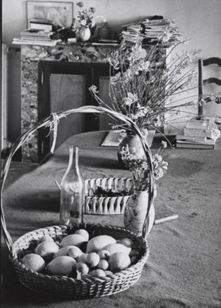 1946. Столовая Пьера Боннара в Ле Боске
