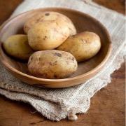 Тарелка с картошкой