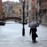 Город затопило