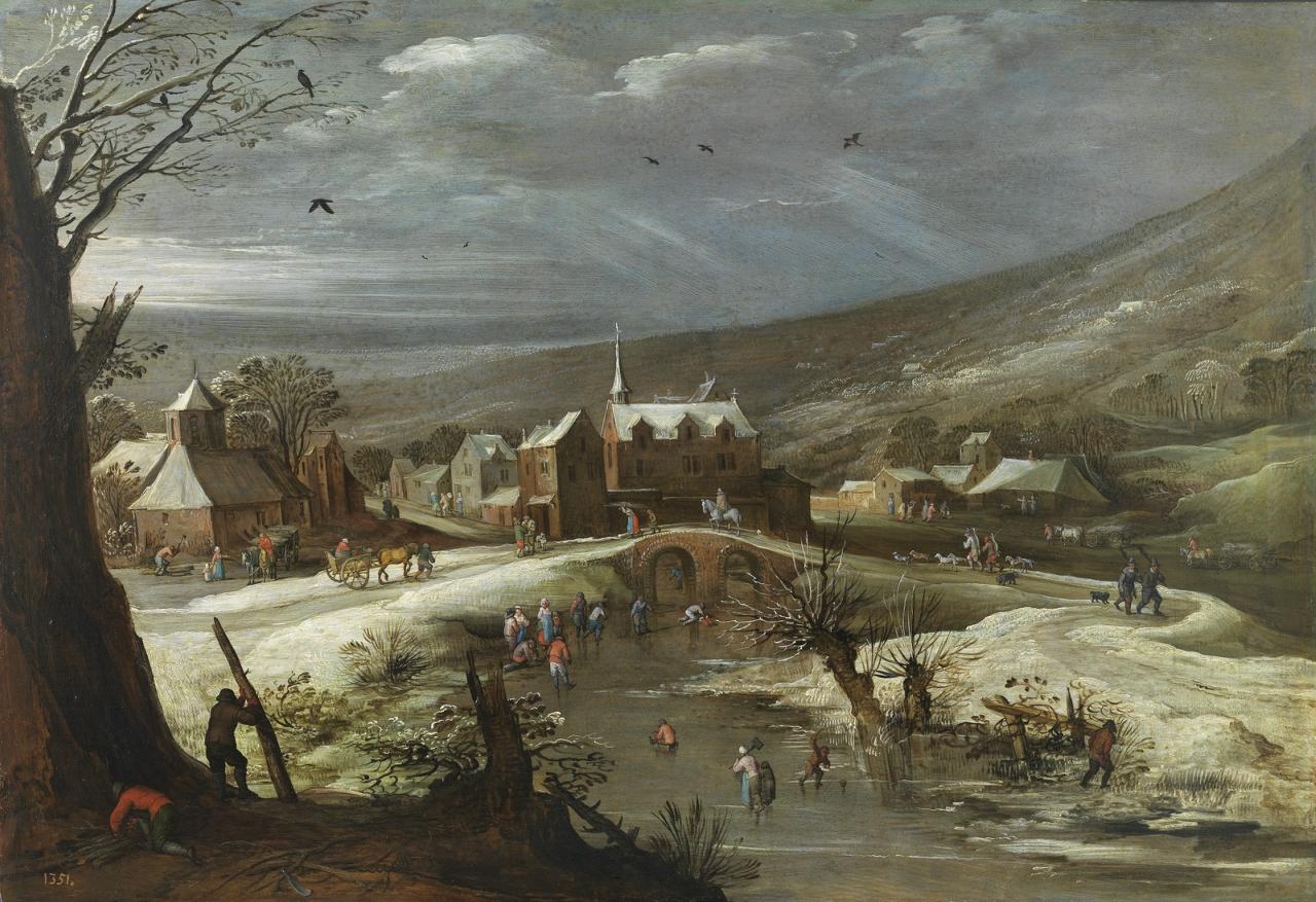 1615-1625_Пейзаж с фигуристами (Landscape with skaters) (совм с Яном Брейгелем Ст)_58 х 84_д.,м._Мадрид, музей Прадо.jpg