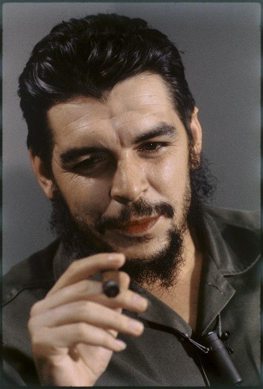 Фотопортреты Че Гевары в цвете