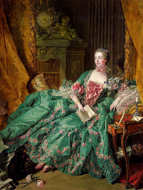 Portrait of Madame de Pompadour (1756) by François Boucher