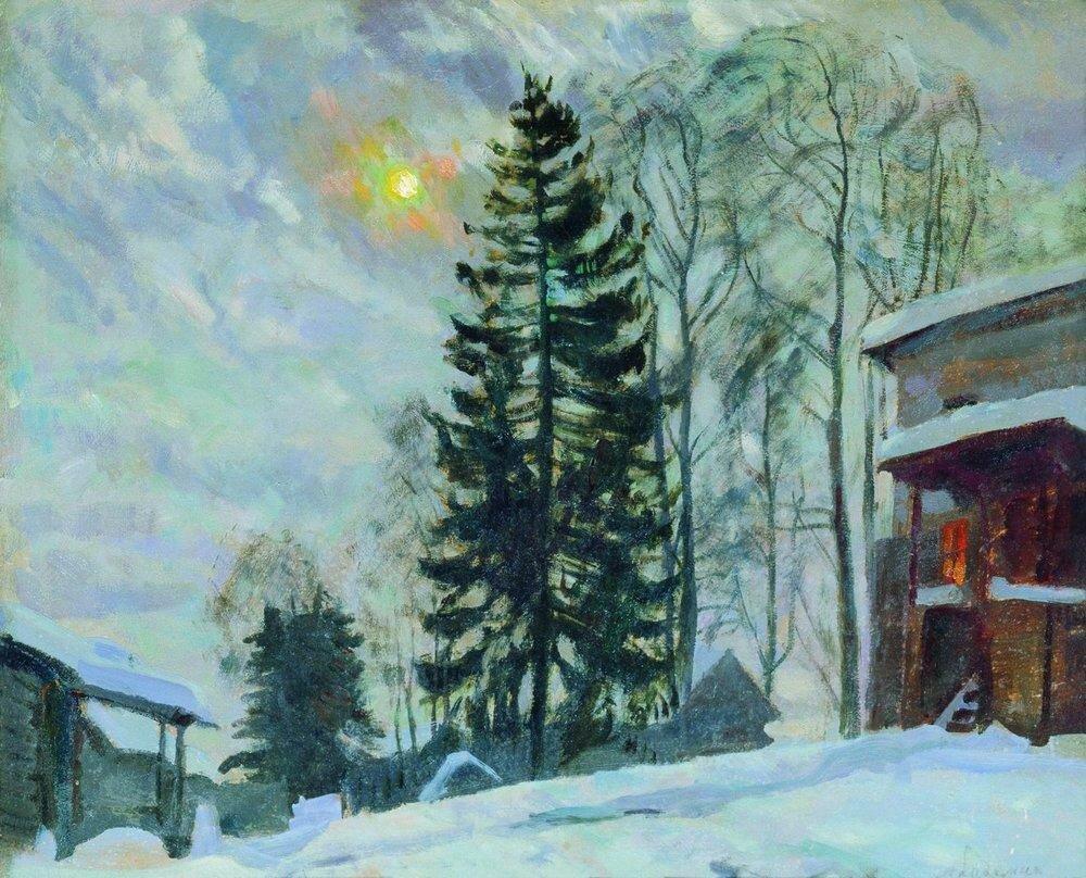 Усадьба зимой. 1918.jpg