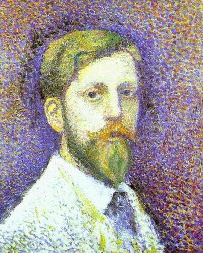 ЖОРЖ ЛЕММЕН (1865–1916) SELF-PORTRAIT (1890)
