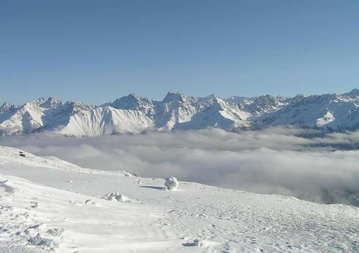 Прекрасные европейские горы Альпы в снегу 0 221f58 7a772183 XL