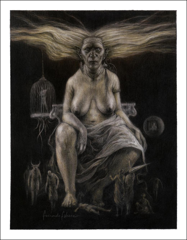 Antiguos cuentos de Brujas, Fernando Falcone