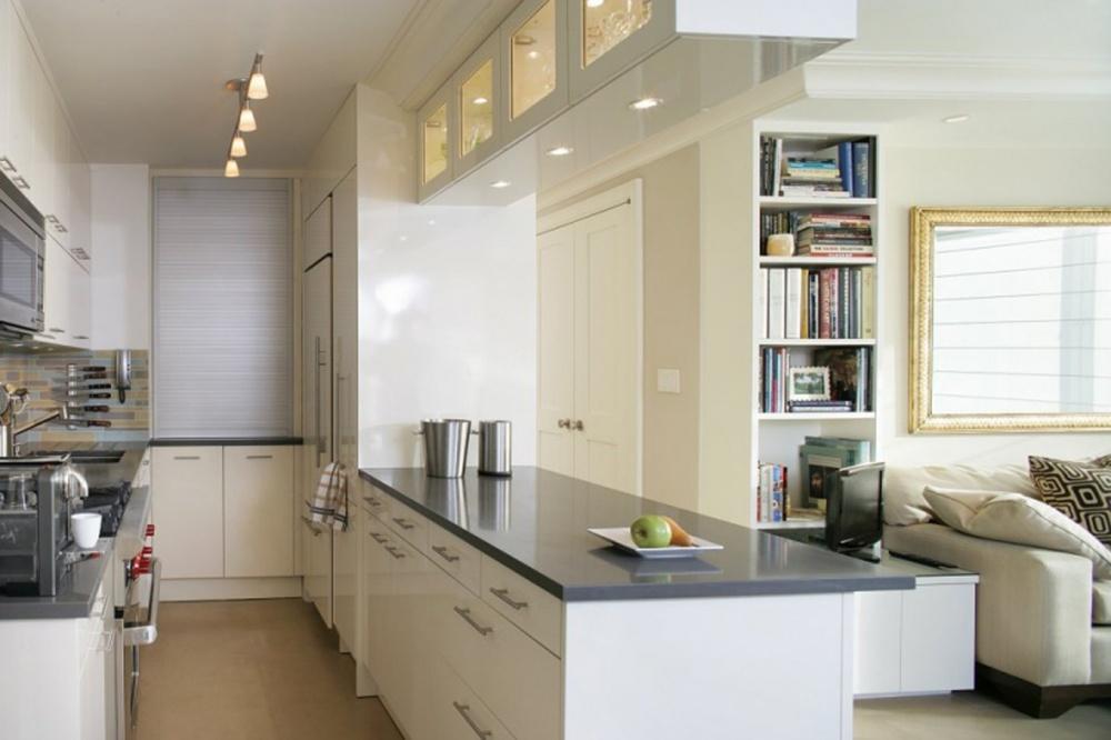 Стильные решения для маленькой кухни