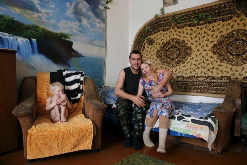 Жизнь в деревне Калач с населением в 12 человек