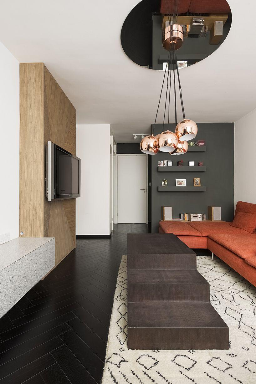 Дизайн интерьера маленькой квартиры в Лондоне фото 4