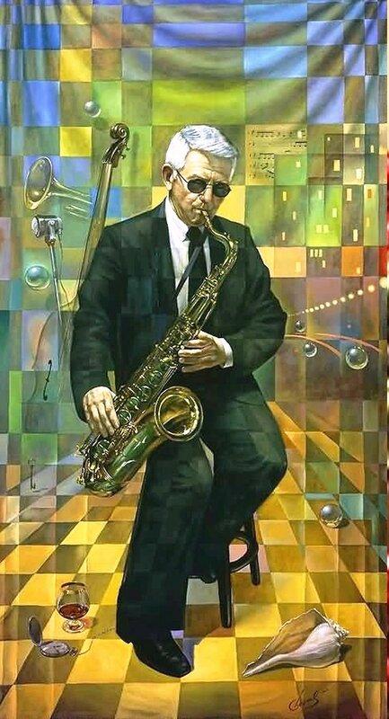 Картина художника Михаила Хохлачева(Майкл Шеваль ).Формат файлов Формат JPG