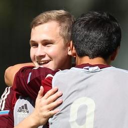 Победа юношеской сборной России 1999 года рождения над Азербайджаном.