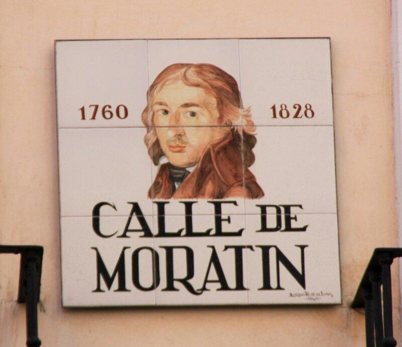 Мадрид (Madrid), Calle de Moratin