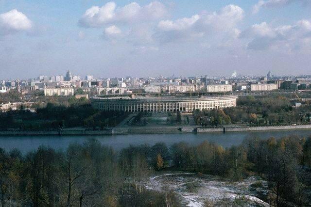 1977, ноябрь_Вид с Ленинских гор.jpg