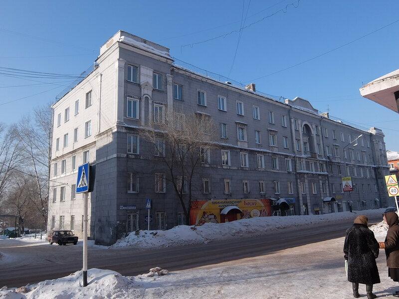 Киселевск - Здание на Советской улице