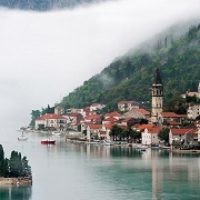 Город вдоль воды
