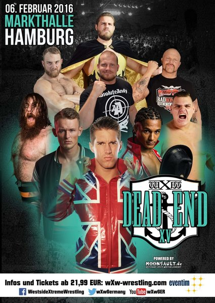 Post image of wXw Dead End XV