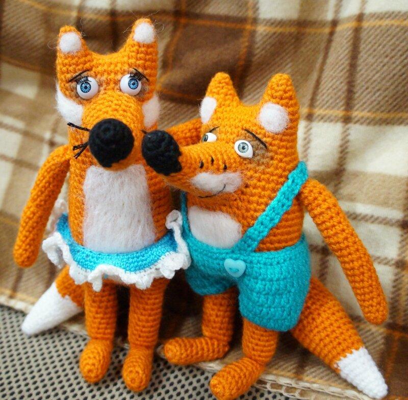 Мягкие вязанные игрушки