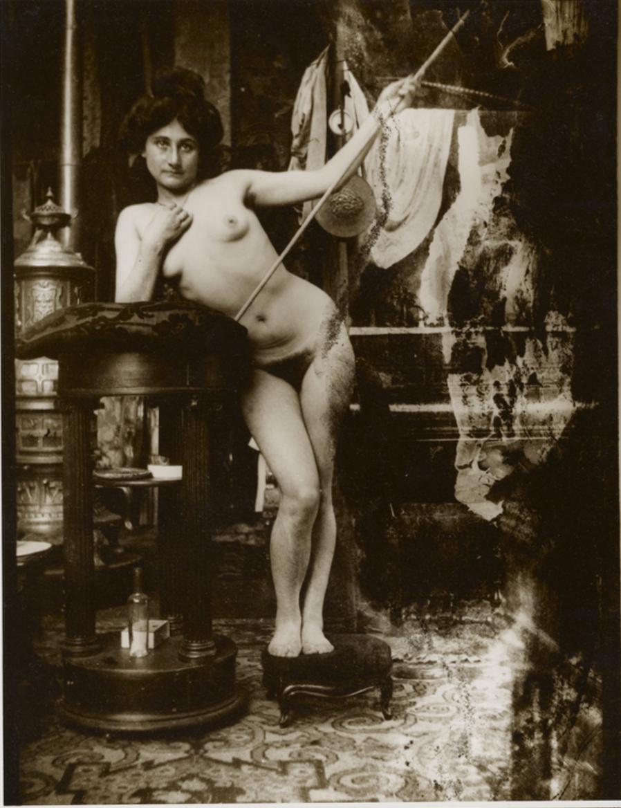 1899. Обнаженная с копьем, Париж