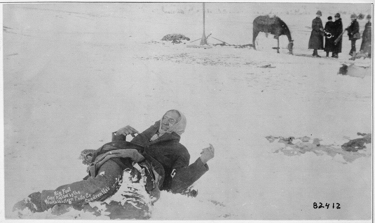 the wounded knee massacre