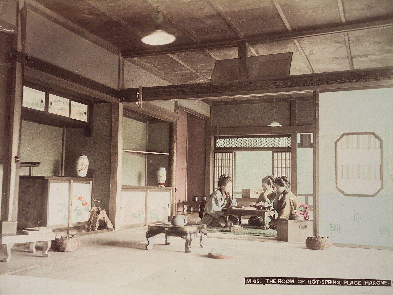 Хаконэ. Комната у горячих источников