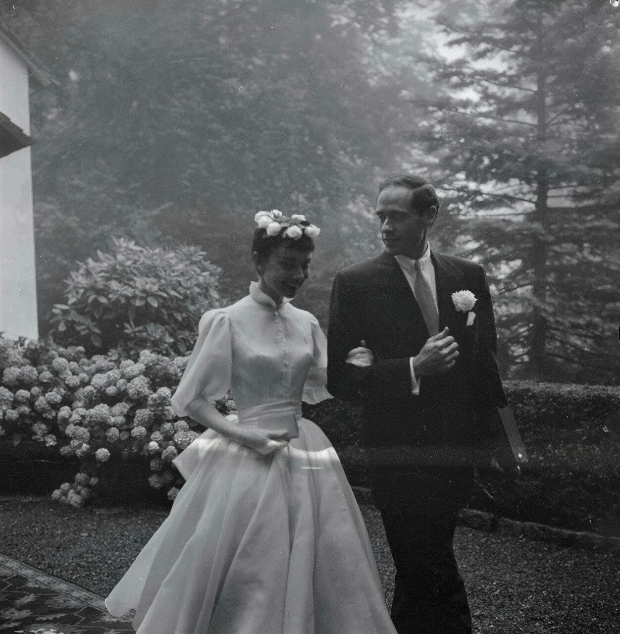 одри хепберн фото свадьба