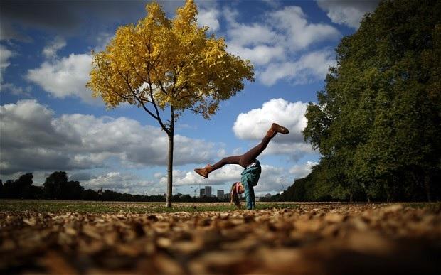 Осенние цвета в Гайд-парке. Лондон, Англия. Autumn colour in Hyde Park. Photo: GETTY